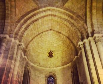 Das blonde Haar in der Jerusalemer KircheRedeemer Church and the Hair