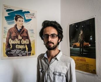 Hesam Misaghi, ein iranischer Dissident in BerlinHesam Misaghi, an Iranian dissident