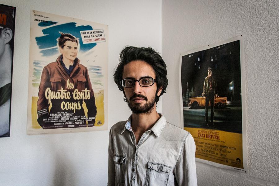 IMG 0285 Hesam Misaghi, ein iranischer Dissident in Berlin Wahlen Teheran Oppression Iran Grüne Bewegung Green Movement elections Dissident Blogger Bahai