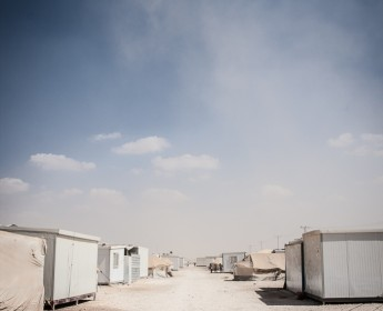 Zaatari - Flüchtlingslager - IZaatari - Refugee Camp - I