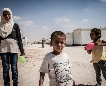 Zaatari - Flüchtlingslager - IIZaatari - Refugee Camp - II