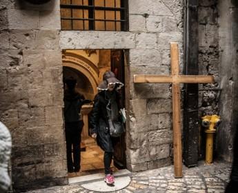 Eine Hexe bei JesusA Witch At Jesus'