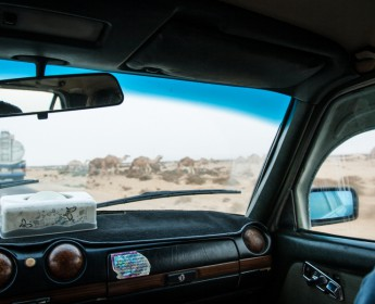SaharataxiCab Ride in the Western Sahara