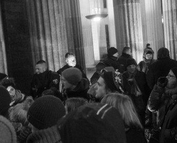 Demonstration Nobaergida in Berlin, 12th of January 2015